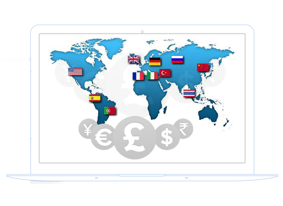 Multiple Language/Multiple Currency System - hybrid mlm software