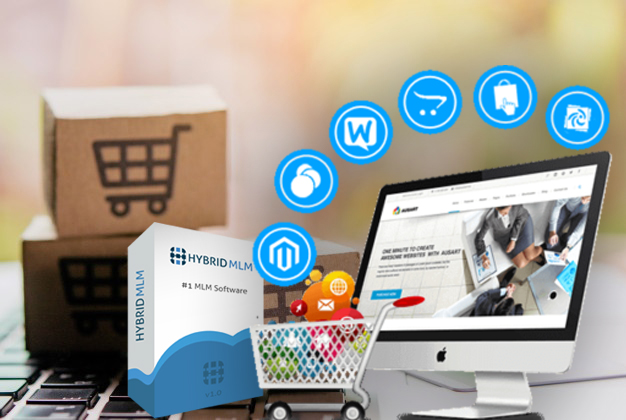 Ecommerce MLM  | Hybrid MLM Software