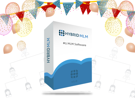 party plan mlm software- hybridmlm